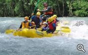 Rafting tour on the Eisack